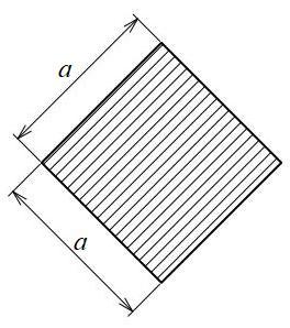 正方形45°