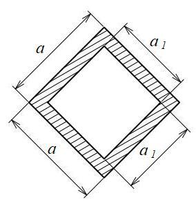 正方形(中空45°)